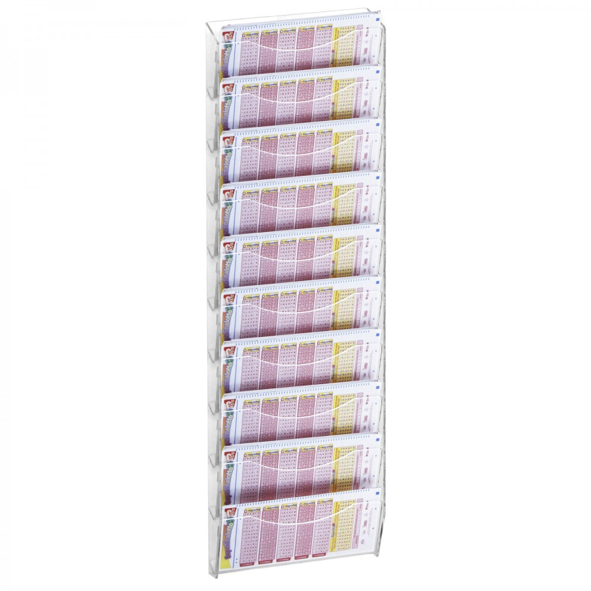 Clear acrylic post it note holder - Porta poster plexiglass ...
