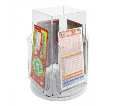 Countertop Umbrella Holder : Tier acrylic countertop bet slip card holder display Dimensions: 8 ...