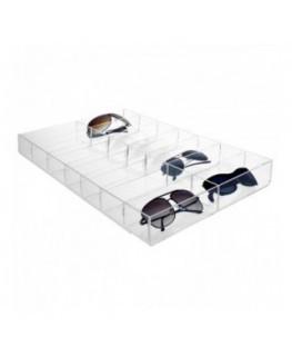 Urna da parete in plexiglass trasparente - Misure: 30x30x...