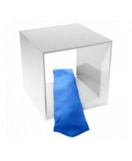 Acrylic Cube shelving - white