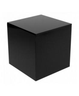 Acrylic Cube shelving - black