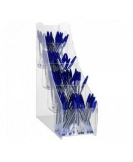 E-411 - Porta penne da banco in plexiglass trasparente