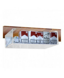 Clear acrylic hand rolling tobacco display for attachment...
