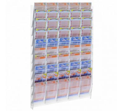 Pr sentoir mural porte cartes postales avec 18 poches - Porte cartes postales mural ...