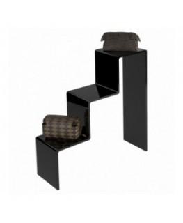 Scaletta in plexiglass nero
