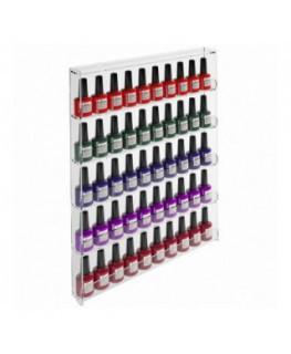 E-568 - Espositore vetrinetta da parete Trasparente per Make Up - Larghezza 39 cm.
