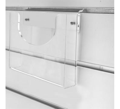 Multifunktions-Fach horizontal aus Plexiglass, transparent