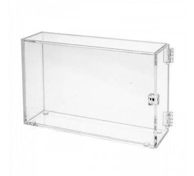 Teca in plexiglass trasparente