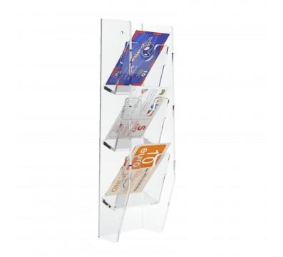 Présentoir pour télécartes mural réalisé en acrylique