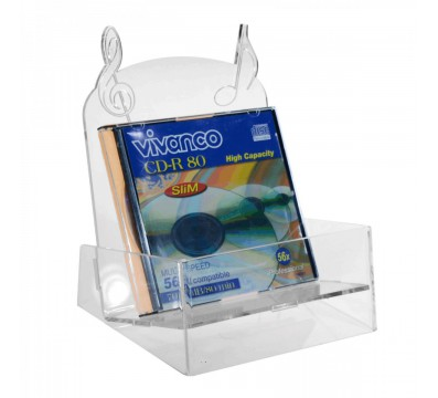 CD-Ständer aus Plexiglass