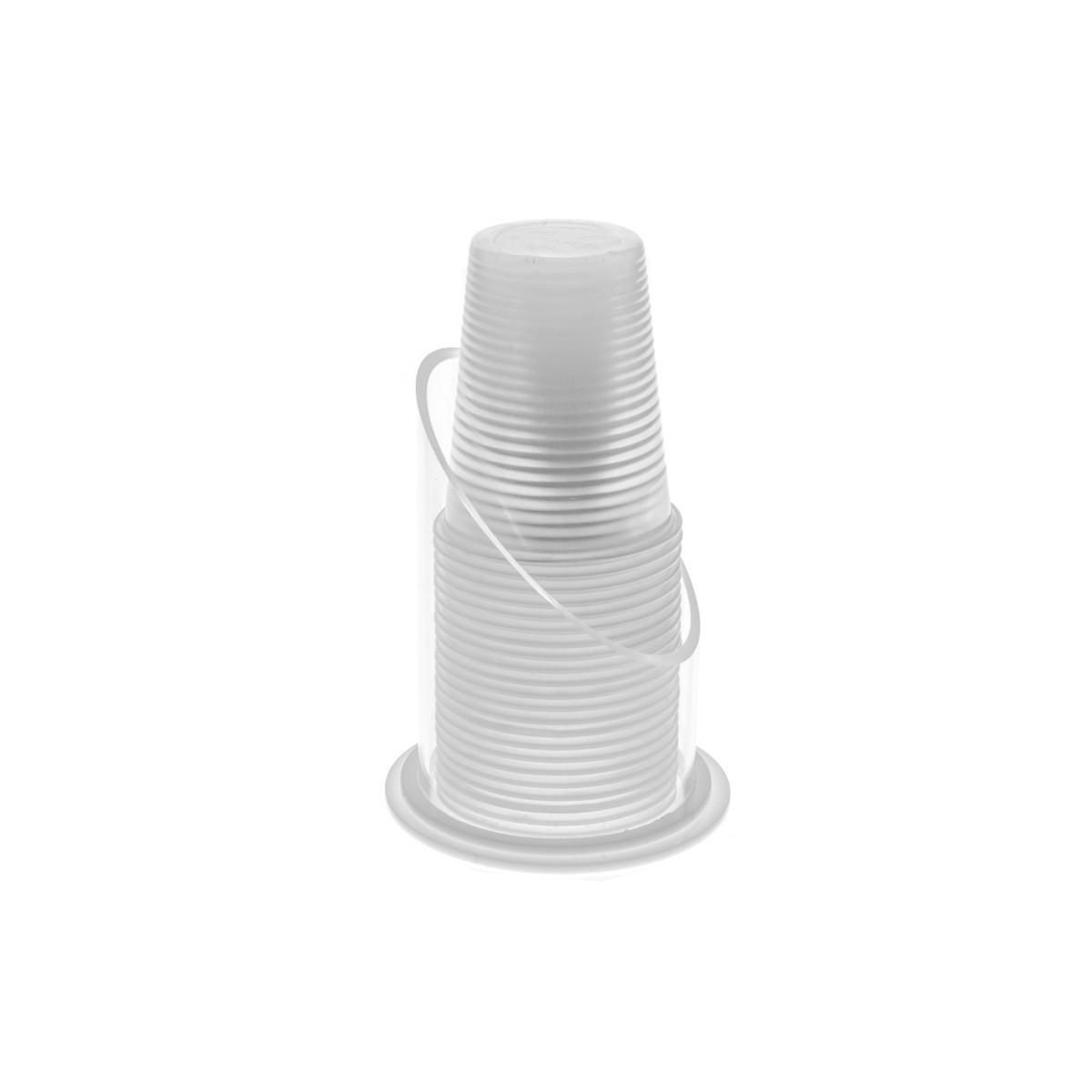 Porte-verre circulaire en acryliquetransparent - Diamètre du tube : 74 cm - Hauteur: 12 cm