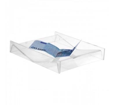 E-018 RR - Rendi resto in plexiglass trasparente