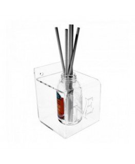 Clear acrylic countertop frangrance display holder