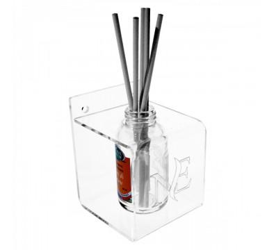 Raumdufthalter für Theken, aus Plexiglass, transparent