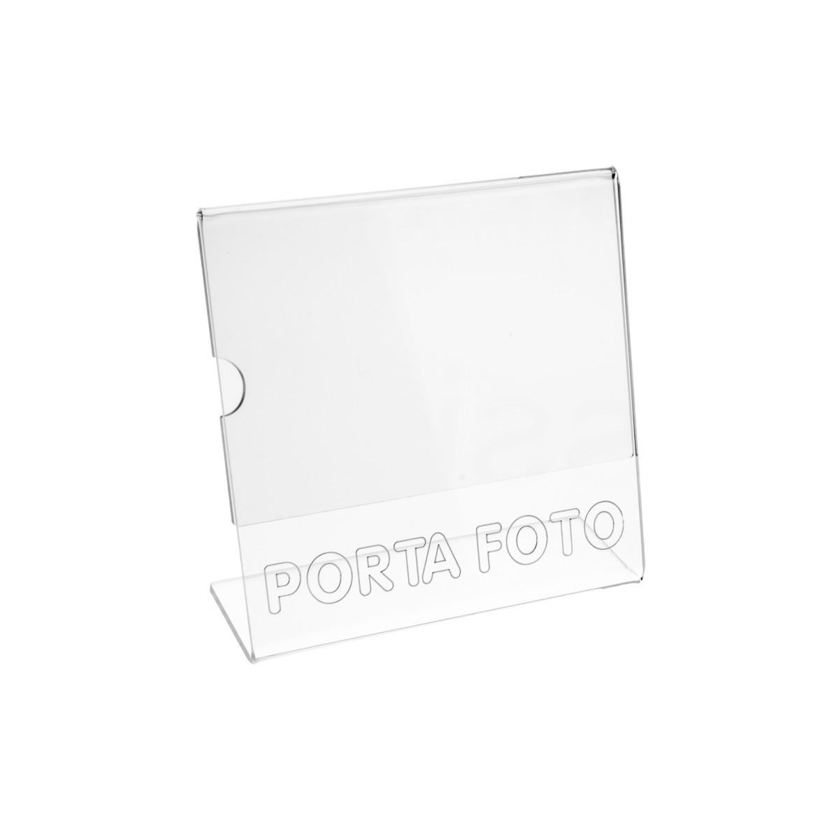 E-031 PF - Porta foto in plexiglass - Misure: 16xH16 cm