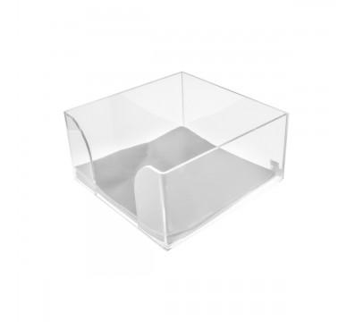Serviettenhalter für Theken aus Plexiglass, transparent