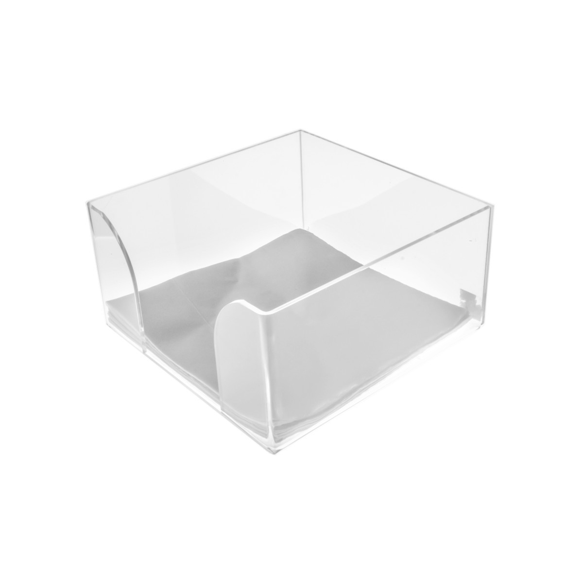 Clear Acrylic countertop napkin holder display