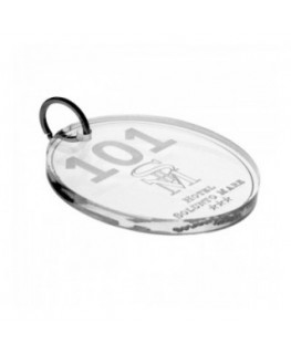 Clear Acrylic keychain for...