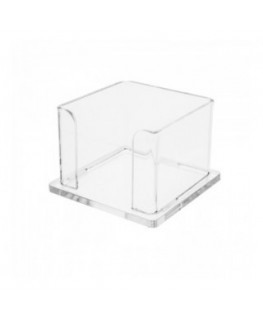 Frosted acrylic business card holder