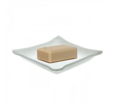 E-073 PO-A - Vassoio porta oggetti in plexiglass bianco - Misure: 10 x 10 x H1.5 cm - Spessore 3 mm