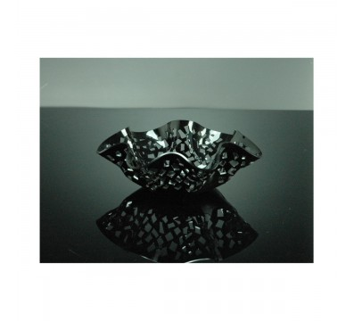 Black acrylic table centrepiece