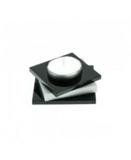E-080 PCN-A - Porta candele in plexiglass colorato A