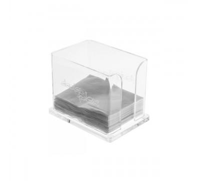 Serviettenhalter aus Plexiglass, transparent