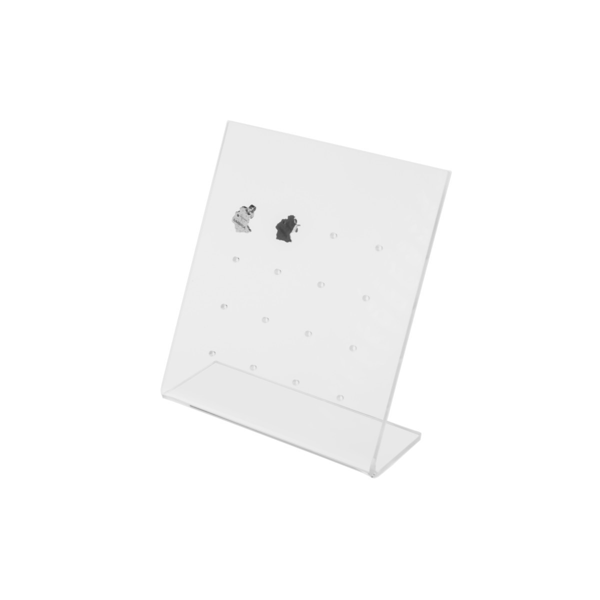 Expositor para pendientes con 16 orificios