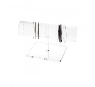 Clear Acrylic bracelet display stand holder