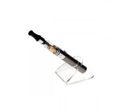 E-093 PSE-A - Porta sigaretta elettronica da banco in plexiglass trasparente - Misura: 5 x 7 x H3.5 cm