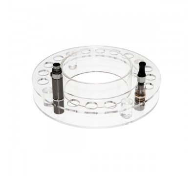 E cigarette atomizer display