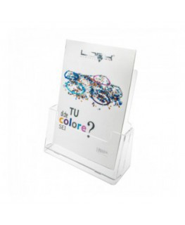 A4 Acrylic tabletop brochure holder