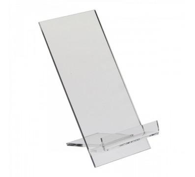 E-123 PCE-F - Espositore in plexiglass per cellulari / smartphone - Misura: 7x10x H12 cm