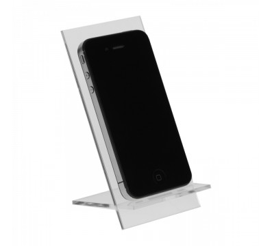 Clear acrylic mobile phone/smartphone display holder