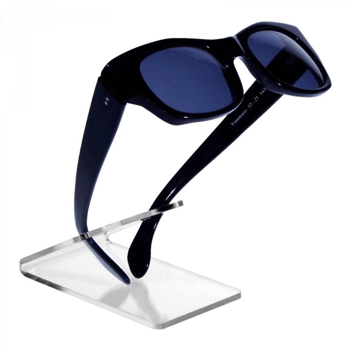 E-126 ESP-B - Portaocchiali in plexiglass trasparente - Misura: 7,5x7x H9 cm
