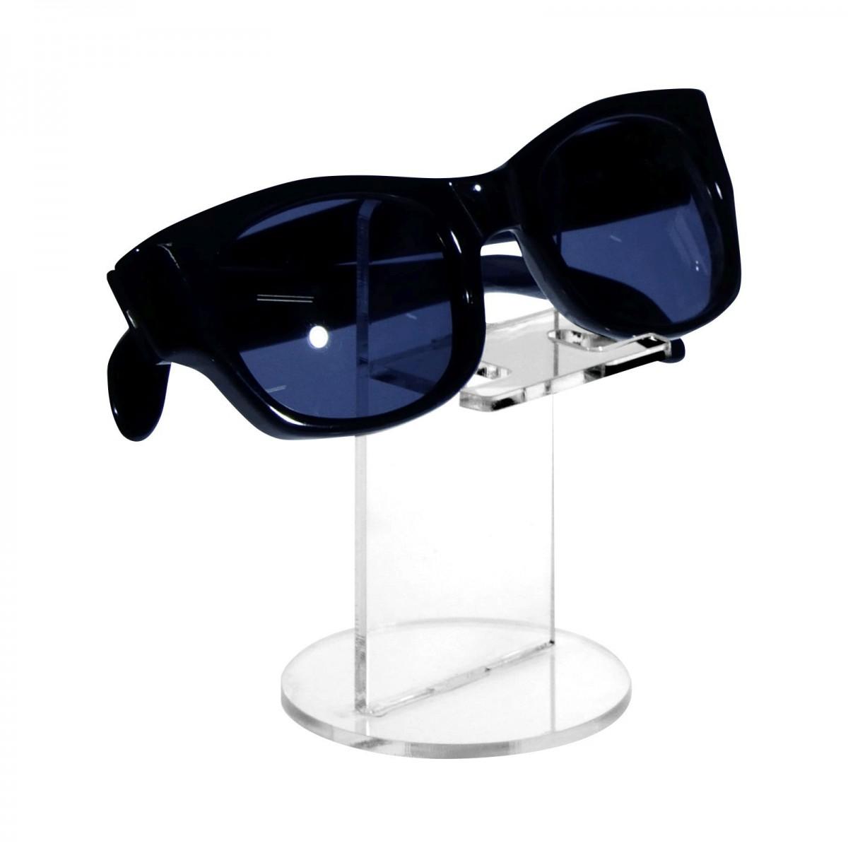 E-126 ESP-C - Portaocchiali in plexiglass trasparente - Misura: 6,5x6,5x H10 cm