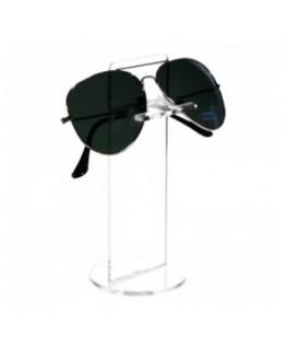 E-126 ESP-D - Portaocchiali in plexiglass trasparente - Misura: 6,5x6,5x H15 cm