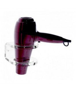 Clear Acrylic wall-mounted hair dryer holder