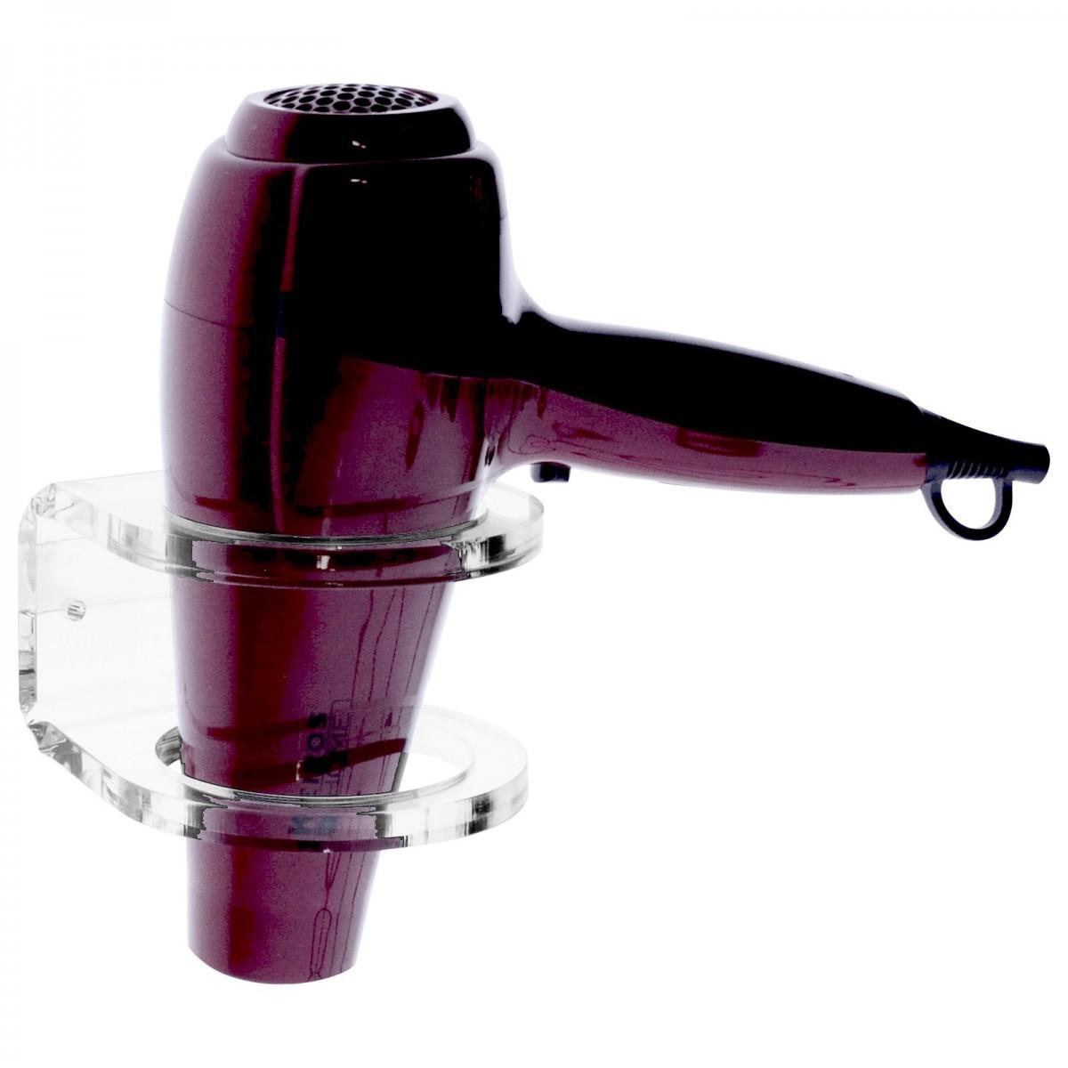 E-177 POP - Porta phon in plexiglass trasparente da parete - Misure: 10 x 12 x H6 cm