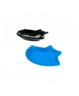 E-178 CON - Espositori per antipasti in plexiglass trasparente o colorato - Misure: 11 x 9 x H2 cm