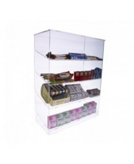 Clear acrylic cigarette lighter display stand – 4...