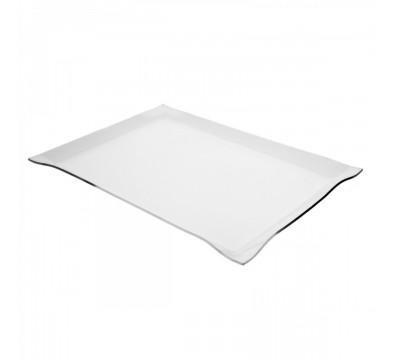 Vassoio in plexiglass trasparente porta oggetti - Misure: 30 x 40 x H4 cm - Spessore 3 mm
