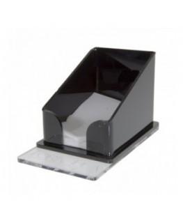 E-243 POT-A - Porta tovaglioli plexiglass trasparente e colorato - Misure: 9 x 11 x H10 cm