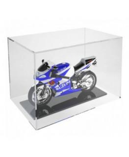E-245 TEC - Teca in plexiglass trasparente 5 lati chiusi con fondo aperto - Misure: 30x20x H20 cm