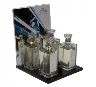 E-248 PES - Espositore da banco per cosmetici - Misure 17 x 17 x H1 cm