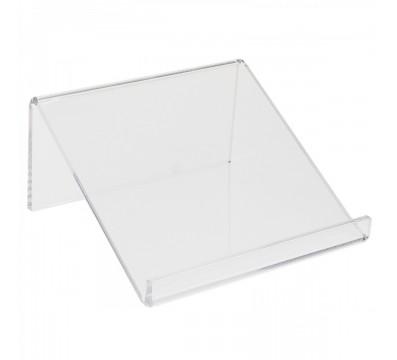 Porta tablet in plexiglass trasparente - Misure: 16x15x H 8