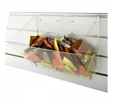 Clear Acrylic slatwall multipurpose box