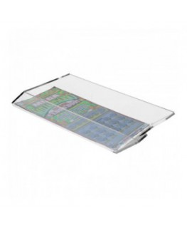 E-287 EGV-B - Espositore schedine e gratta e vinci da cassetto per raccolta schedine vinte - Misure: 12 x 17x H4 cm