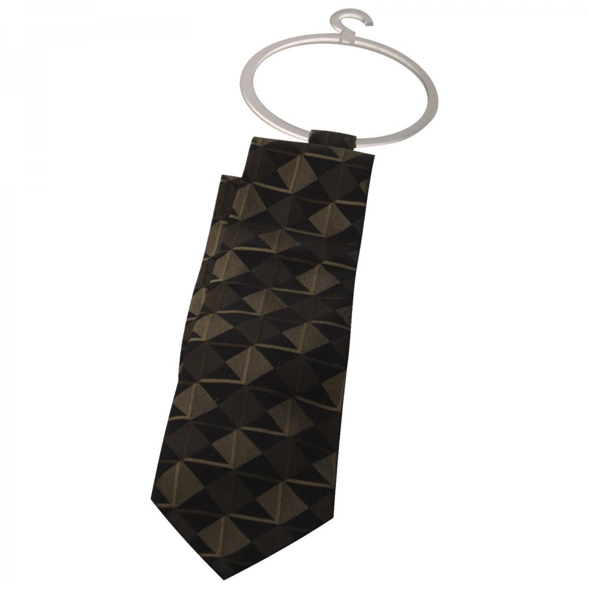 E-303 EPC-A - Porta cravatte e foulard in plexiglass trasparente - Misure 13.5 x H17 cm