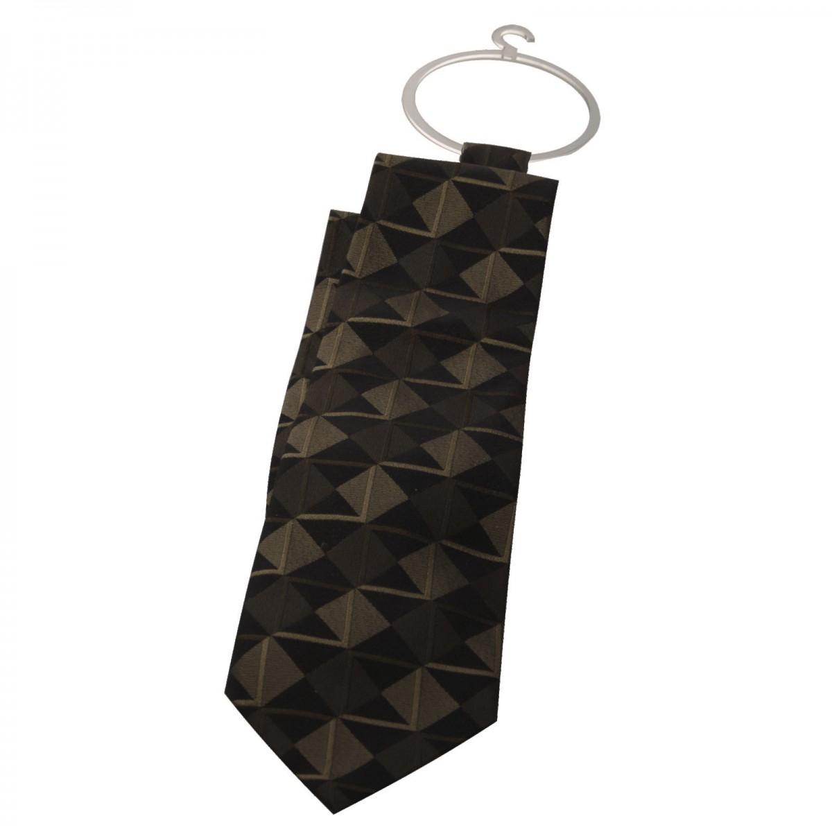 E-303 EPC-B - Porta cravatte e foulard in plexiglass trasparente - Misure 8 x H10 cm